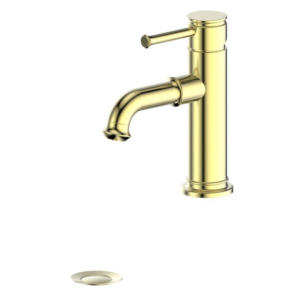 Photo of ZLINE Carnelian Bath Faucet – POLISHED GOLD