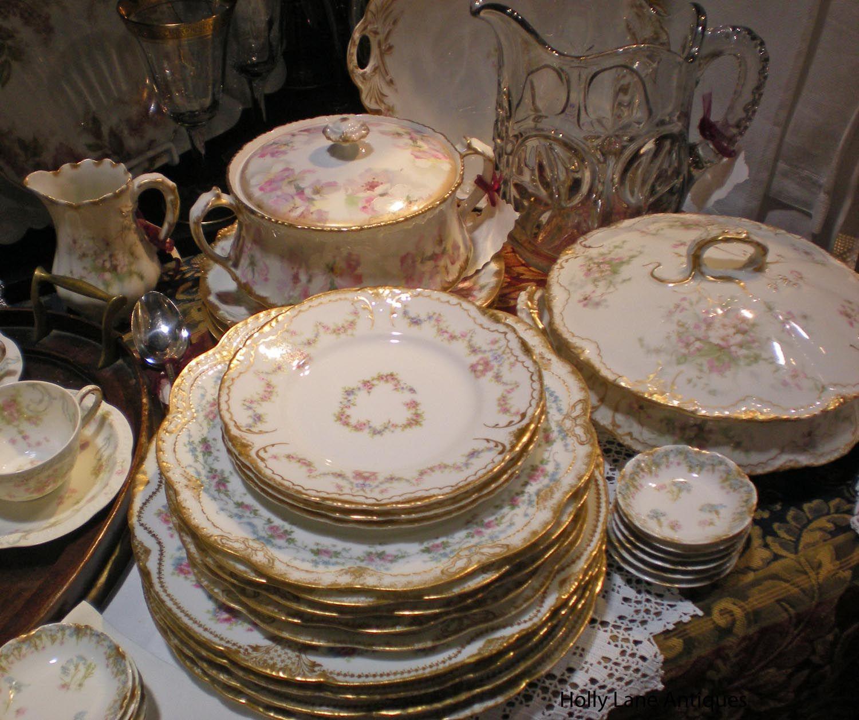 Antique Haviland Limoges China - Holly Lane Antiques - | Elegant ...