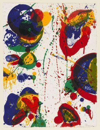 sam francis post war abstract expressionist american abstrakte malerei kunstproduktion tachismus bilder acryl abstrakt kunst kaufen original