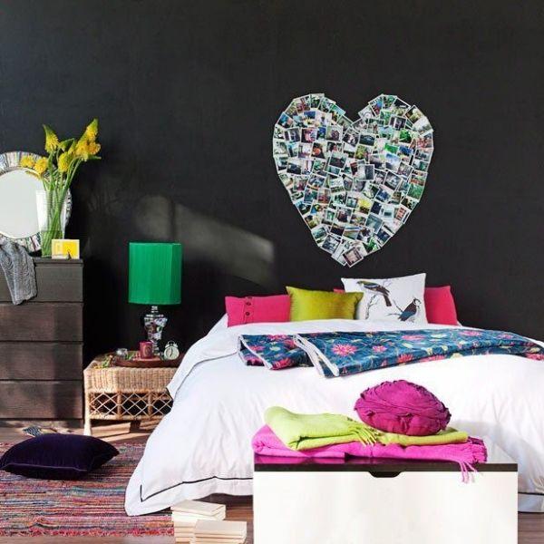 Ideen Für Romantische Valentinstag Dekoration Im Schlafzimmer #dekoration # Ideen #romantische #schlafzimmer #