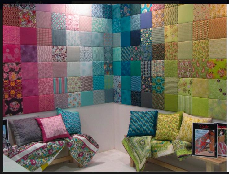 M s de 25 ideas incre bles sobre paredes de tela en - Telas para tapizar paredes ...