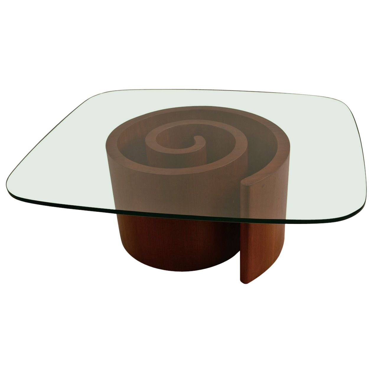 Snail Table by Kagan | See more antique and modern Coffee and Cocktail Tables at https://www.1stdibs.com/furniture/tables/coffee-tables-cocktail-tables