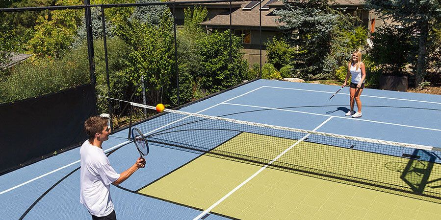 Outdoor and Indoor Residential Multi-Court   Multi-Use ...