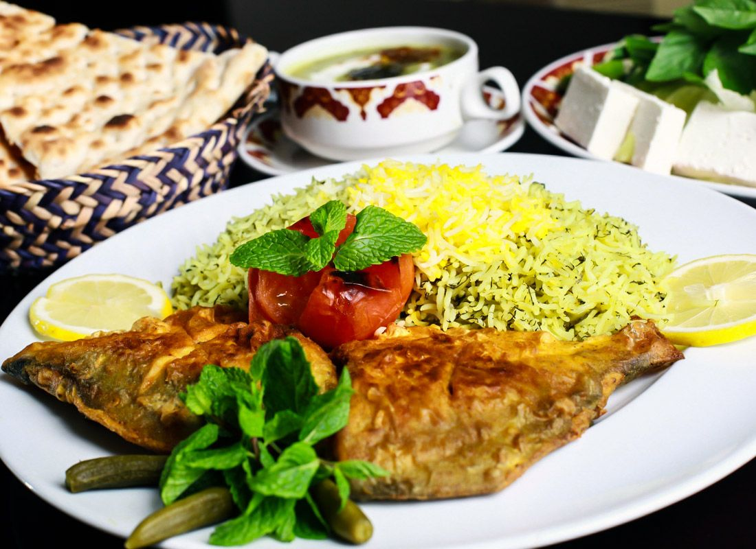 Sabzi Polo Mahi (Persian Herbed Rice with Fish) www.ifilmtv.com/english/