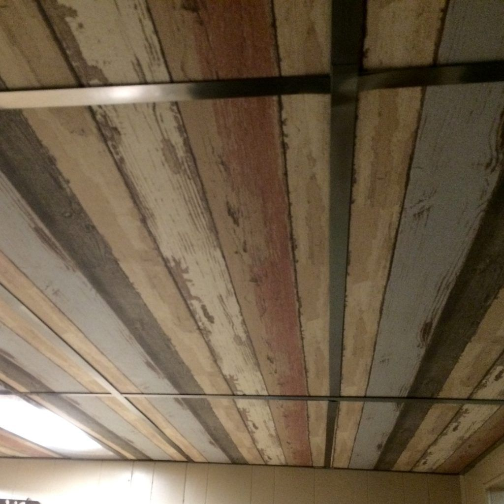 Brown Core Ceiling Tiles Riverside House Dropped