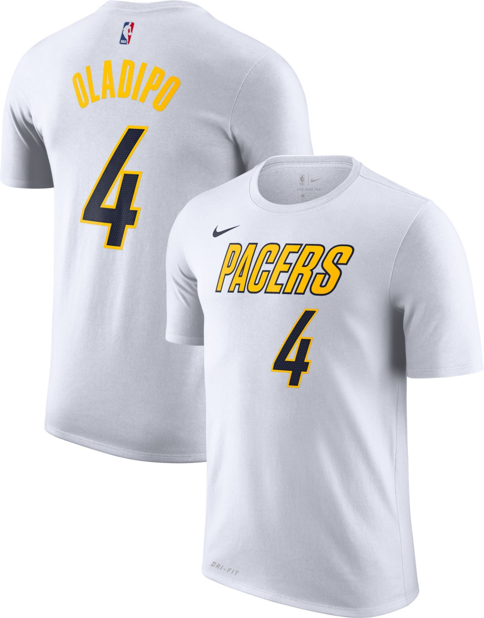 new arrival 6dd76 2ded0 Nike Men's Indiana Pacers Victor Oladipo Dri-FIT Earned ...
