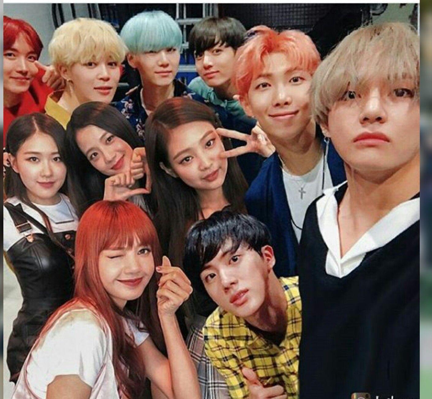 ai meu cuuuu!!!!#BTSand BLACKPINK | Kpop em 2019 | Bts