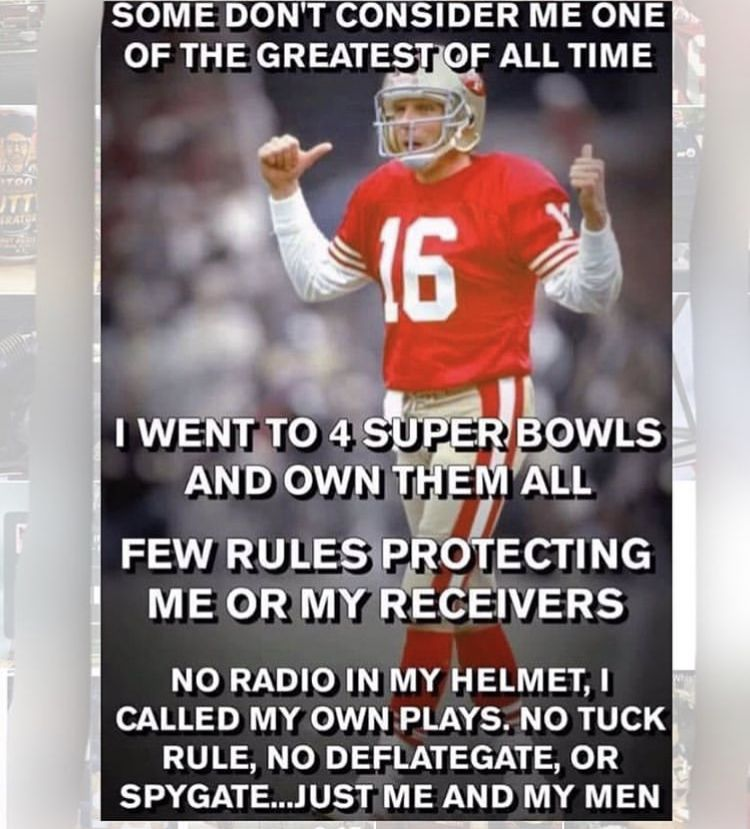 the greatest of all time montana goat 49ers memes, Nfl