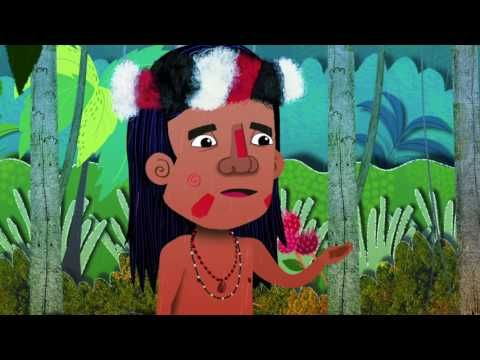 Teaching Spanish Otra Leyenda Ecuatoriana El Nacimiento Del Río Amazonas Río Amazonas Amazonas Mitos Y Leyendas