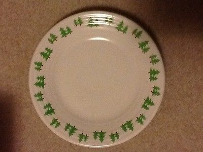 Fiesta Christmas Tree Border Luncheon Plate & Fiesta Christmas Tree Border Luncheon Plate | Fiesta Dinnerware ...
