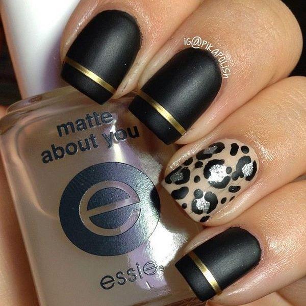 maravillosos diseños de uñas decoradas con cintillas - Nail with ...