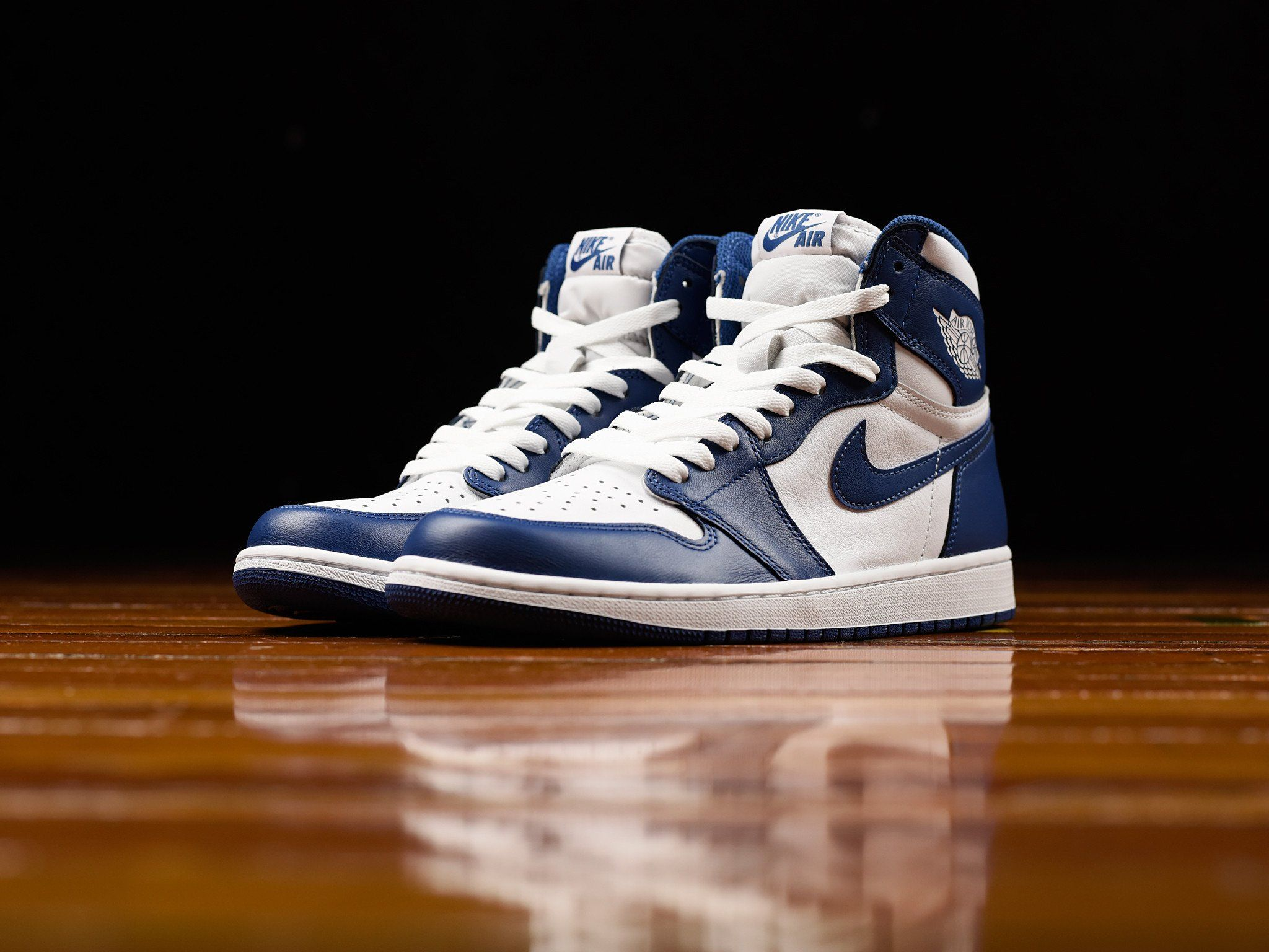 Air Jordan 1 Retro High Og Storm Blue In 4 Days With Images