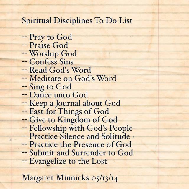 Spiritual Disciplines QUOTES BY MARGARET MINNICKS Pinterest