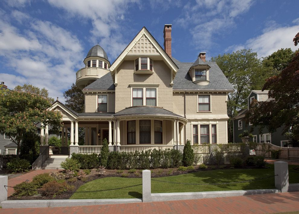 Elaborate Victorian House Exteriors