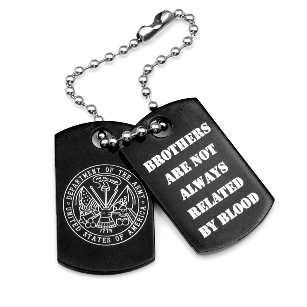 22f6ae64db finest mens engraved dog tags with army emblem with engraved tags for  jewelry. interesting jewelry stamping tags custom branding logo laser ...