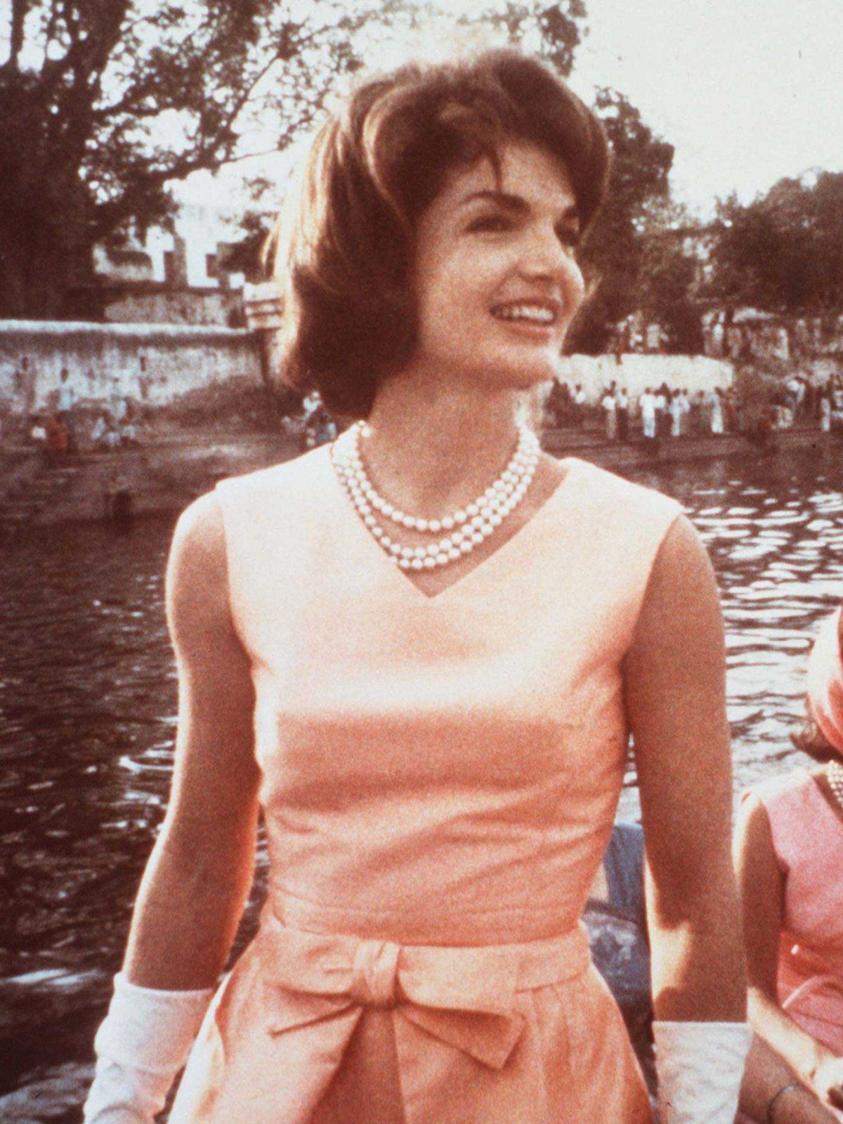 Jackie Kennedy Perlenkette Jackie Kennedy Jacqueline Kennedy Onassis Klassische Eleganz