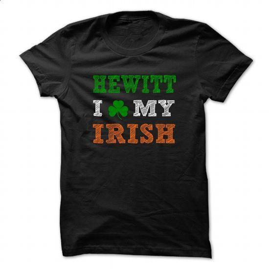 HEWITT STPATRICK DAY - 0399 Cool Name Shirt ! - #sorority shirt #hoodies for men. BUY NOW => https://www.sunfrog.com/LifeStyle/HEWITT-STPATRICK-DAY--0399-Cool-Name-Shirt-.html?68278