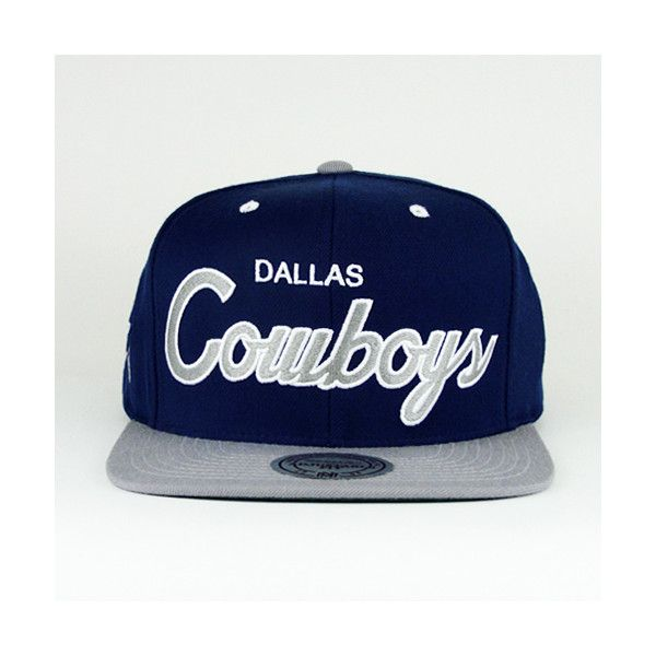 Dallas Cowboys Snapback Mitchell And Ness Green Under 130 Aud Liked On Polyvore Featuring Accessories Hats Snap Cowboy Snapback Snapback Dallas Cowboys