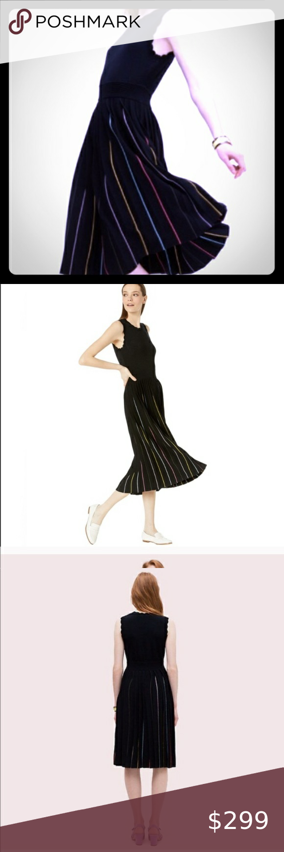 Kate Spade Black Dress This Dress Is New With Tags Size Xl Oumu1191 Material 67 Viscose 33 Polyester Black Dress With Black Dress Kate Spade Black Dresses [ 1740 x 580 Pixel ]
