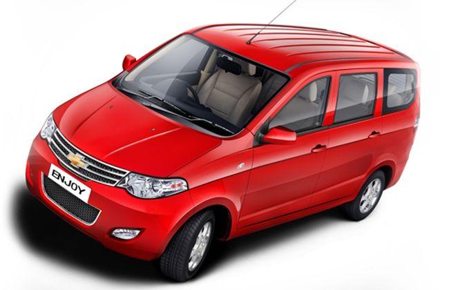 Chevrolet Enjoy Mpv Launches Tomorrow May 9 Car Rental Service Chevrolet Car Rental