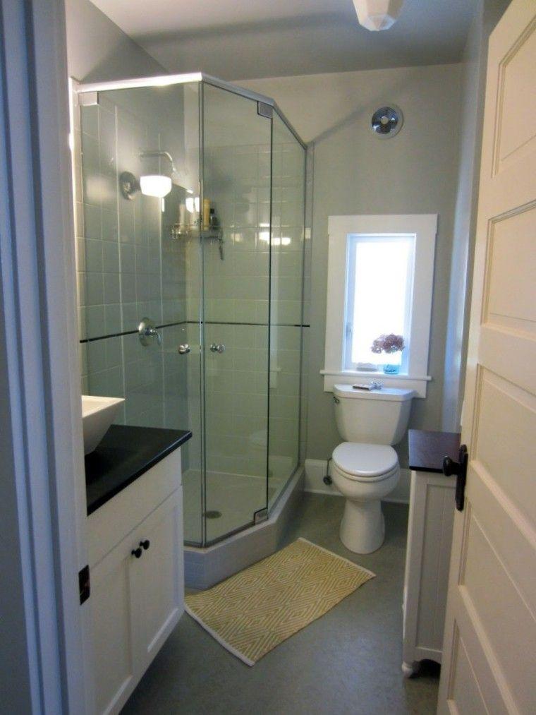 cuarto baño moderno cabina ducha