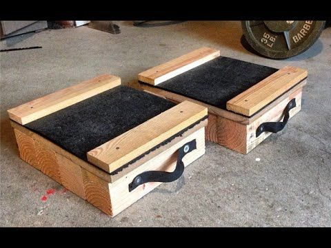 diy  home made deadlift blocks with images  diy home
