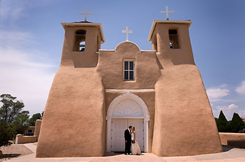 Taos New Mexico Destination Wedding by Jonathan Betz Photography