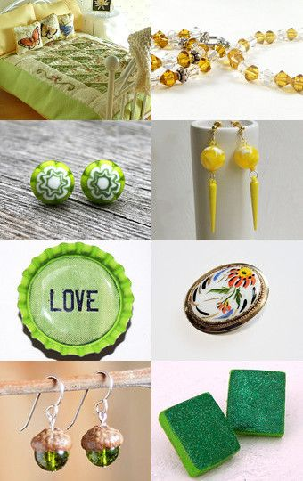 Lemon with a Twist of Lime by Suzanne and Melissa on Etsy--Pinned with TreasuryPin.com