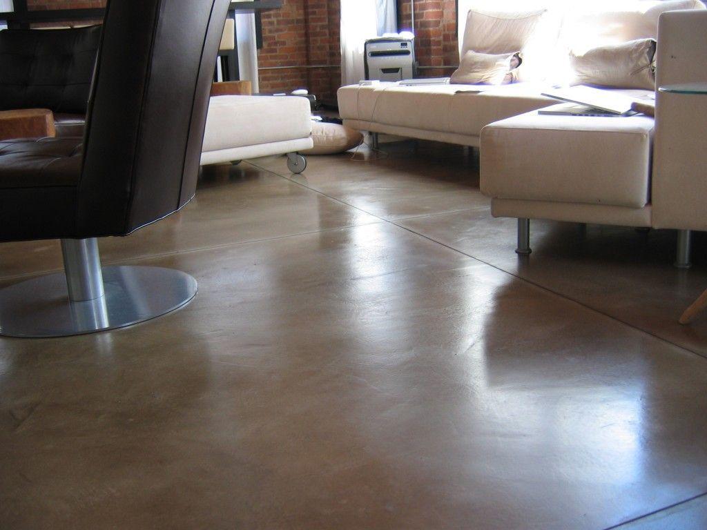 Elegant Look Sealed Concrete Floor Sealed Concrete Floor With