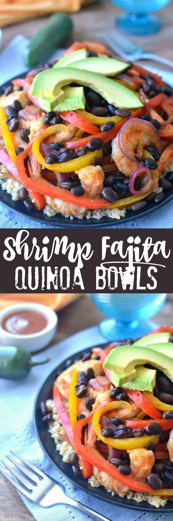 Shrimp Fajita Quinoa Bowls - a healthy, easy, and delicious way to enjoy fajitas! #food #foodporn #yum #instafood #socialsteeze #yummy #amazing #instagood #photooftheday #sweet #dinner #lunch #breakfast #fresh #tasty #food #delish #delicious #eating #foodpic #foodpics #eat #hungry #foodgasm #hot #foods #shrimpfajitas Shrimp Fajita Quinoa Bowls - a healthy, easy, and delicious way to enjoy fajitas! #food #foodporn #yum #instafood #socialsteeze #yummy #amazing #instagood #photooftheday #sweet #din #shrimpfajitas