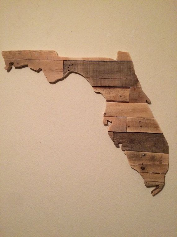 Reclaimed Wood Florida Sign 28 at the longest point Each of our signs is  handmade from - Reclaimed Wood Florida Sign 28 At The Longest Point Each Of Our