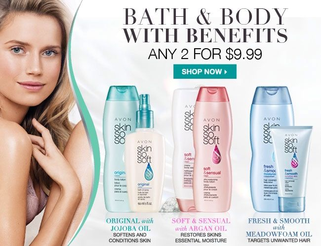 With all your summer activities, keep your skin soft, supple & smelling great! Online only!