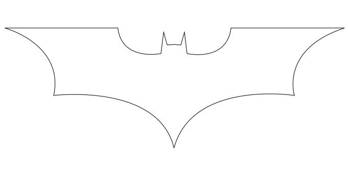 how to draw the batman logo batman animation and drawings