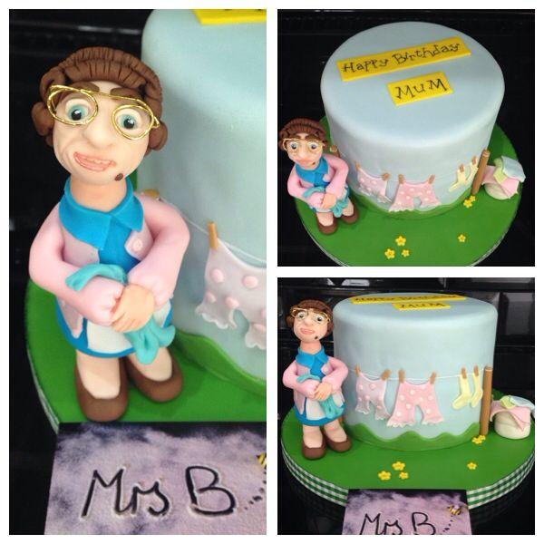 mrs brown 39 s boys 39 washing line 39 cake with mrs brown. Black Bedroom Furniture Sets. Home Design Ideas