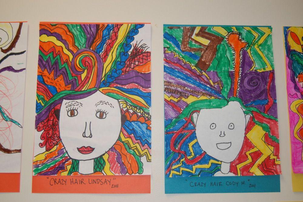 Good Night Posterous Line Art Projects Line Art Lesson Art Lesson Plans
