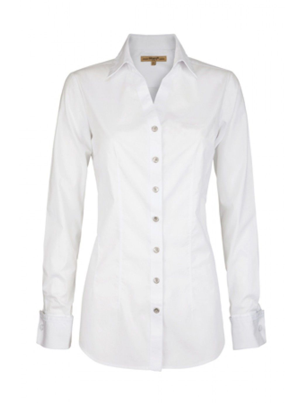 bafef5d89 A long sleeve fitted shirt with wing collar and pleat detail .dubarry