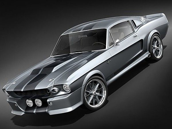Ford Mustang Shelby Cobra Eleanor Classic Models