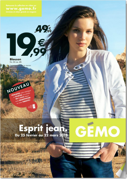 Catalogue Gemo Gemo Marie