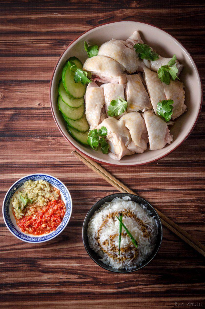 Chicken  Rice - Hainanese Style Recipe  Chinese Food -9061