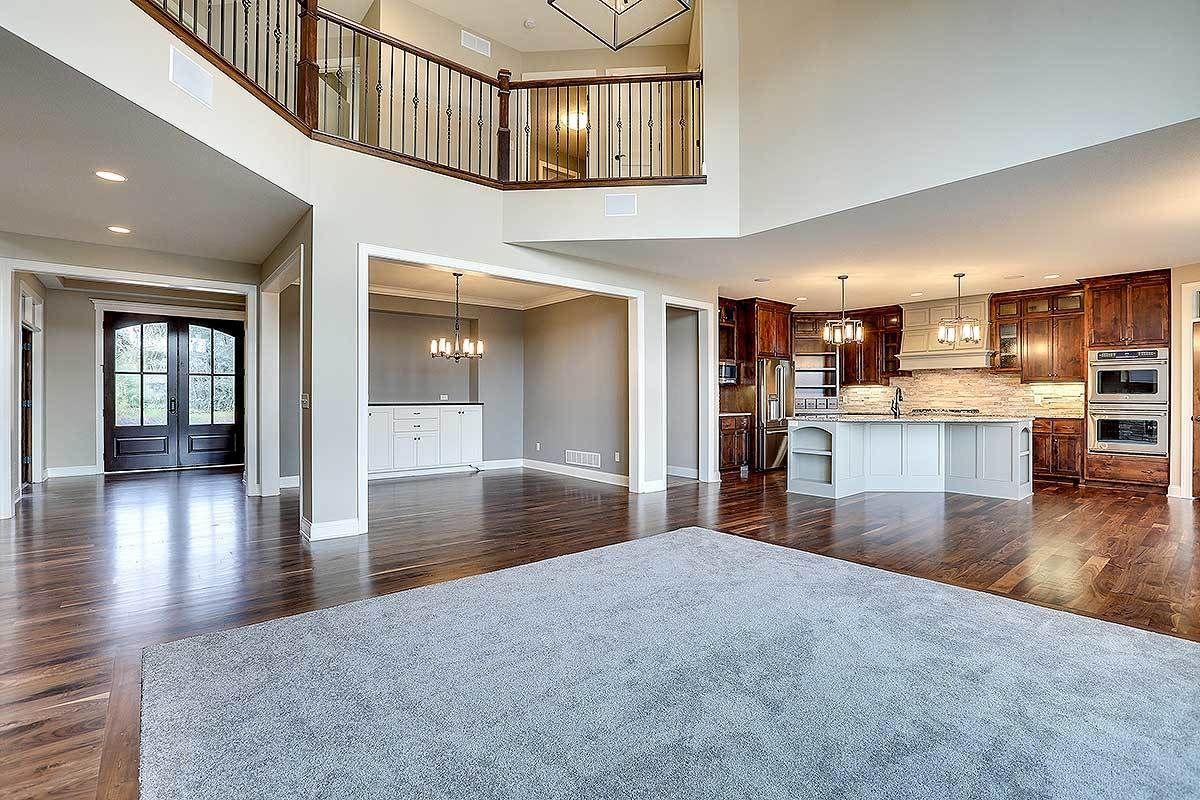 Plan 73377hs Modern Storybook Craftsman House Plan With 2 Story Great Room In 2020 Craftsman House Craftsman House Plan House Plans