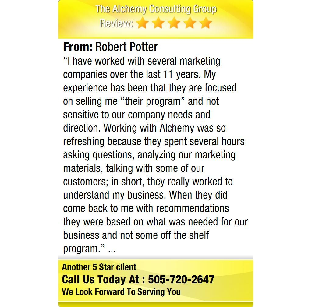 """""""I have worked with several marketing companies over the"""