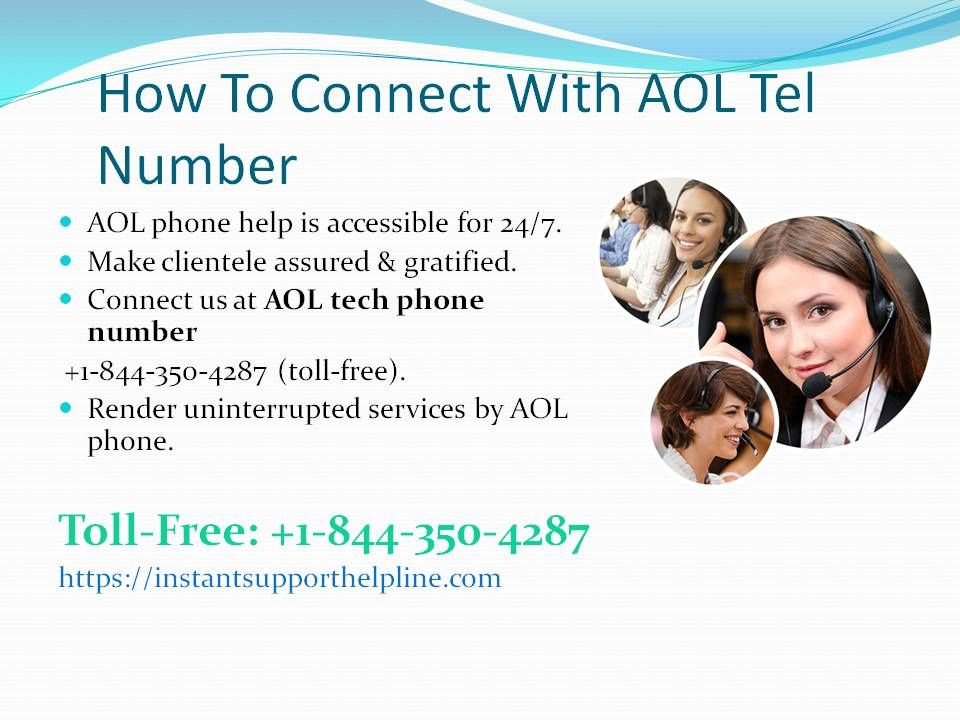 AOL Phone Number +18443504287 Email service provider