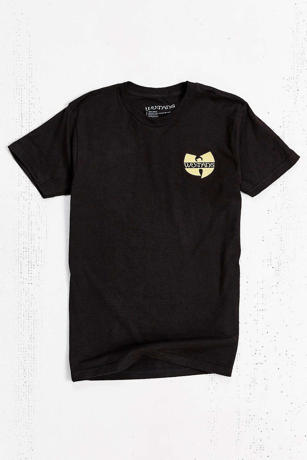 6dd867872a12 Wu-Tang Clan Embroidered Tee