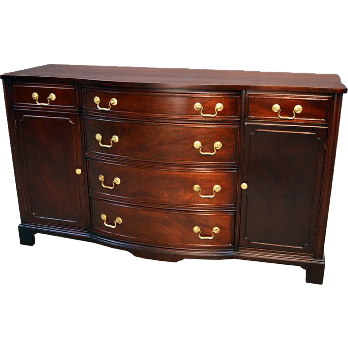Mahogany Duncan Phyfe Sideboard 1940s Duncan Phyfe Antique Dining Room Furniture Sideboard Buffet