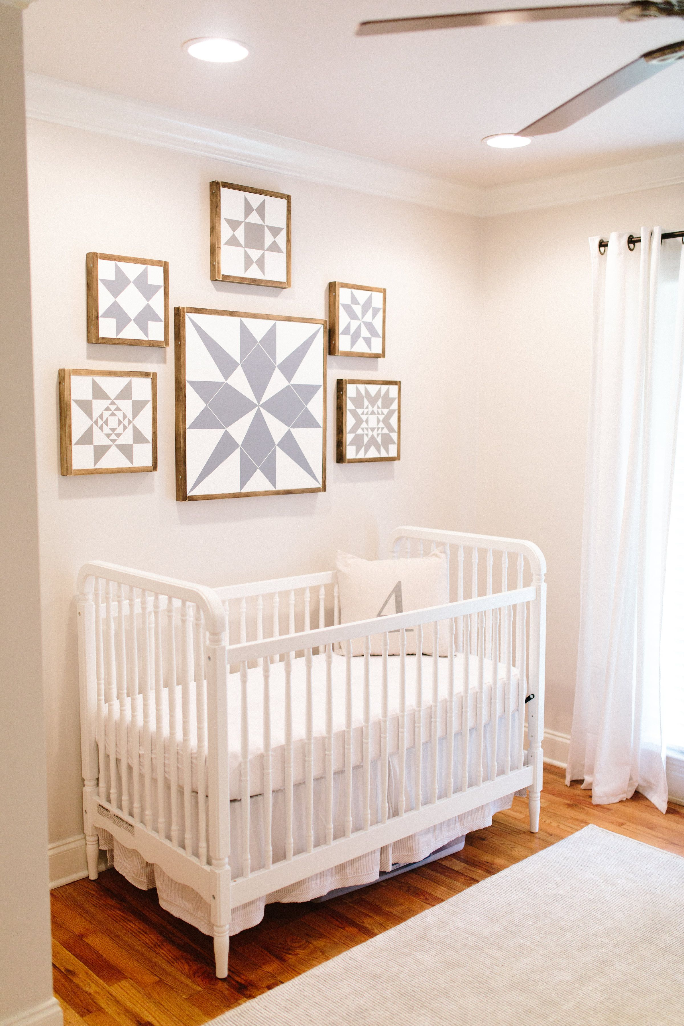 Gender Neutral Nursery decor Gender neutral nursery