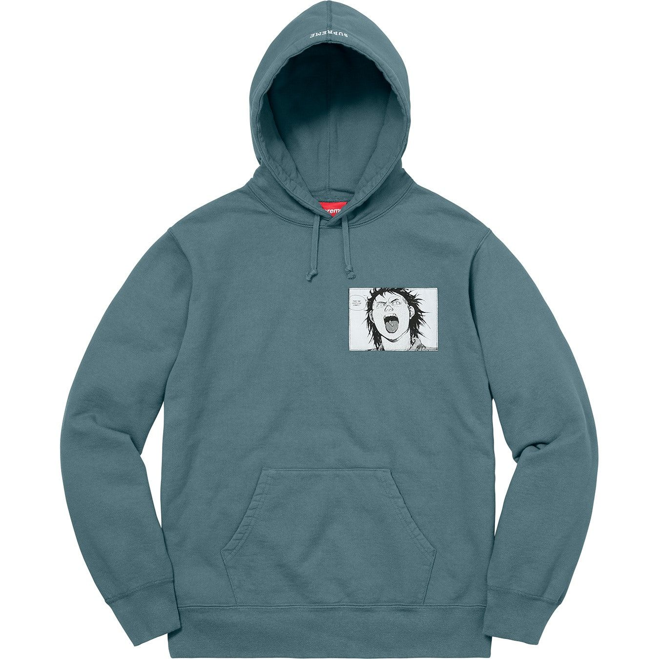 dc766c6b Check out the Supreme AKIRA Patches Hooded Sweatshirt Slate available on  StockX