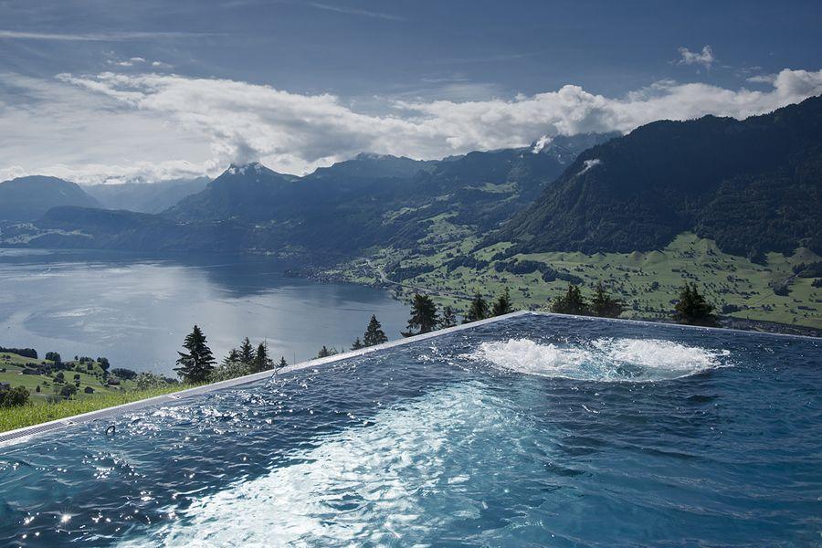 Great View From Hotel Villa Honegg Ennetburgen Bestofswitzerland Switzerland Schweiz Svizzera