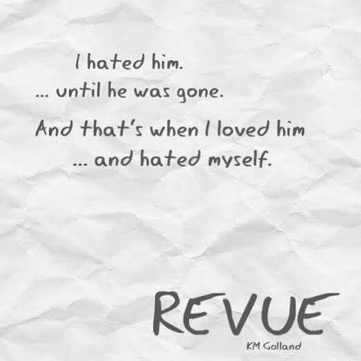 COVER REVEAL: REVUE BY KM Golland BOOK INFO Book: Revue Author: KM Golland Release Date: May 29th, 2015 Image: Shannon Robinson Photography Cover Design: Buying Ham Hosted by: Book Empire Promotions GOODREADS: https://www.goodreads.com/book/show/25126823-revue SYNOPSIS He was on a collision course. … I had paved my way He answered to no one. … I respected authority He wanted me. … I despised him He didn't take no for an answer. …