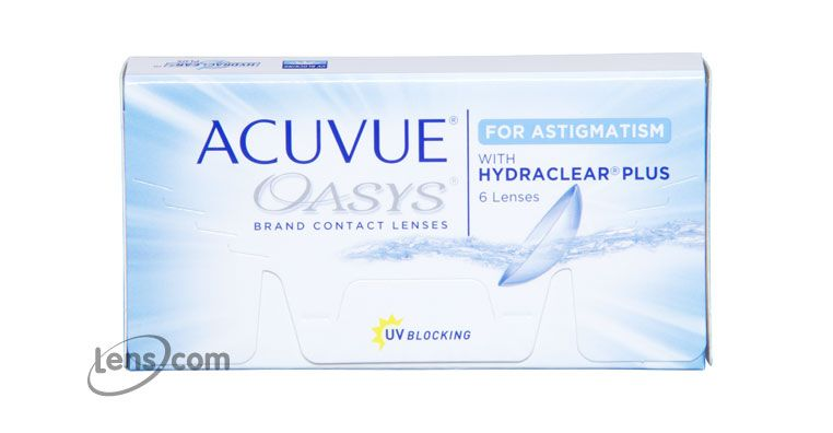 Acuvue Oasys For Astigmatism With Images Contact Lenses Online