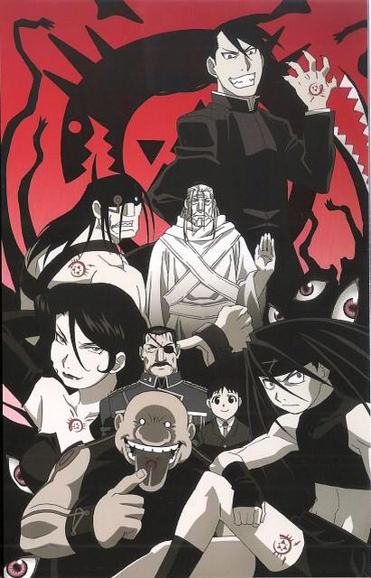 Fullmetal Alchemist Brotherhood 7 Deadly Sins Wallpaper